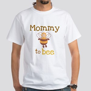 Mommy to be White T-Shirt