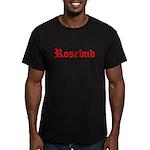 Citizen Kane: Rosebud Men's Fitted T-Shirt (dark)