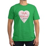 Bella and Edward Twilight Mov Men's Fitted T-Shirt