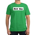 Best Boy Men's Fitted T-Shirt (dark)
