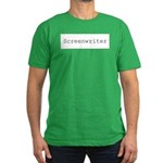 Screenwriter Men's Fitted T-Shirt (dark)