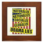 Obamalize Framed Tile