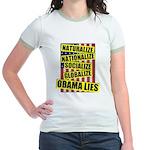 Obamalize Jr. Ringer T-Shirt