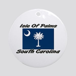 Isle of Palms South Carolina Ornament (Round)