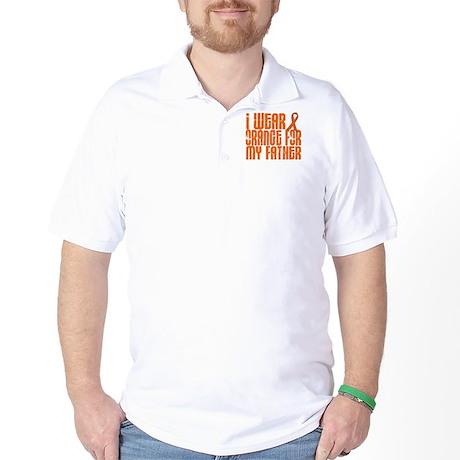 I Wear Orange For My Father 16 Golf Shirt
