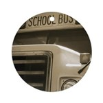 Bus Ornament (Round)