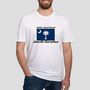 Hilton Head Island South Carolina Fitted T-Shirt