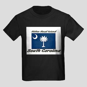 Hilton Head Island South Carolina Kids Dark T-Shir
