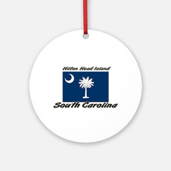 Hilton Head Island South Carolina Ornament (Round)
