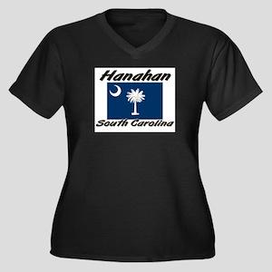 Hanahan South Carolina Women's Plus Size V-Neck Da