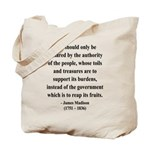 James Madison 10 Tote Bag