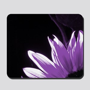 Purple Corner Sunflower Mousepad