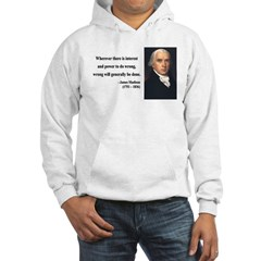 James Madison 11 Hoodie