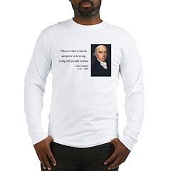 James Madison 11 Long Sleeve T-Shirt