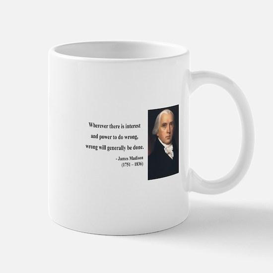 James Madison 11 Mug