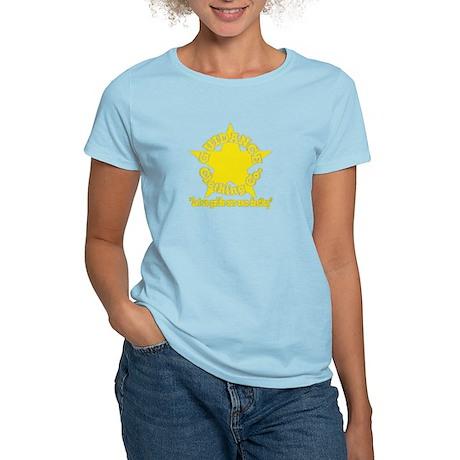 Gold GCC Logo Women's Light T-Shirt
