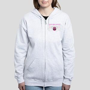JUST BEE-LIEVE! Women's Zip Hoodie