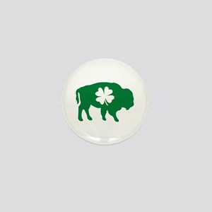 Buffalo Clover Mini Button