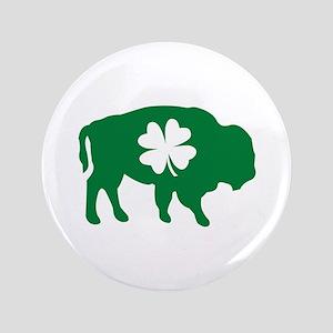 """Buffalo Clover 3.5"""" Button"""