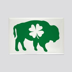 Buffalo Clover Rectangle Magnet