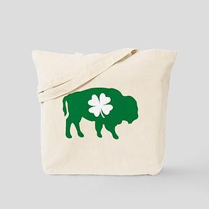 Buffalo Clover Tote Bag