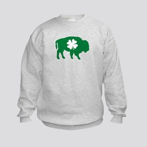 Buffalo Clover Kids Sweatshirt