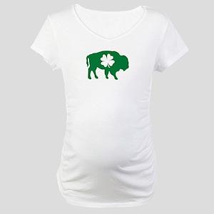 Buffalo Clover Maternity T-Shirt