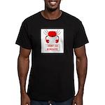 I DON'T DO MONDAYS! Men's Fitted T-Shirt (dark)