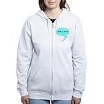 PEEK-A-BOO Women's Zip Hoodie