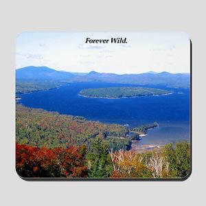Forever Wild Mountain Pass Mousepad