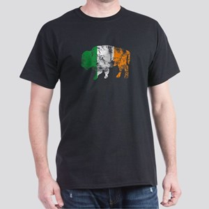 Buffalo Irish Flag Dark T-Shirt