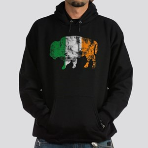 Buffalo Irish Flag Hoodie (dark)