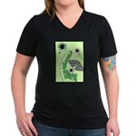Every Day Should Be Earth Day Women's V-Neck Dark
