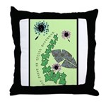 Every Day Should Be Earth Day Throw Pillow