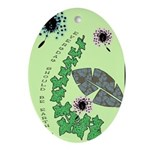 Every Day Should Be Earth Day Ornament (Oval)
