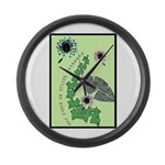 Every Day Should Be Earth Day Large Wall Clock