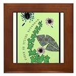 Every Day Should Be Earth Day Framed Tile