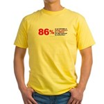 Sexual Assault by Females Yellow T-Shirt