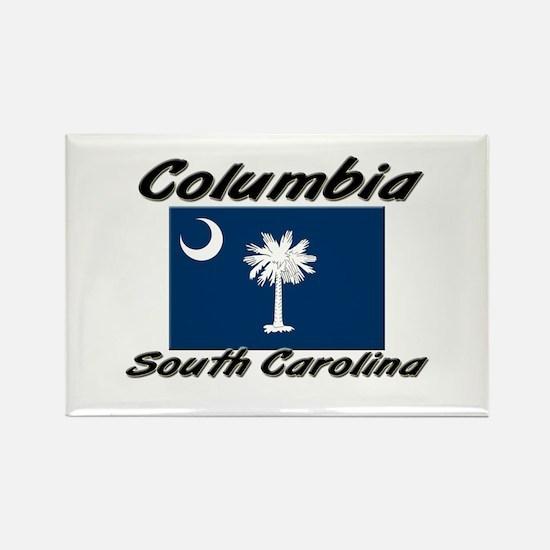 Columbia South Carolina Rectangle Magnet