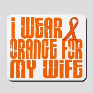 I Wear Orange For My Wife 16 Mousepad