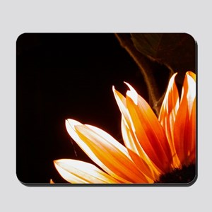 Orange Corner Sunflower Mousepad