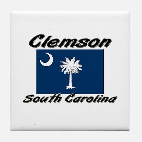 Clemson South Carolina Tile Coaster
