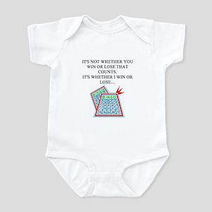 funny bingo joke Infant Bodysuit