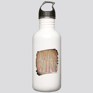 Stupidity Wins Stainless Water Bottle 1.0L