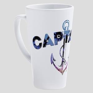 Captain Tropical 17 oz Latte Mug