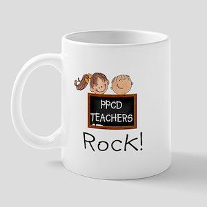 PPCD Teachers Rock Light Mugs