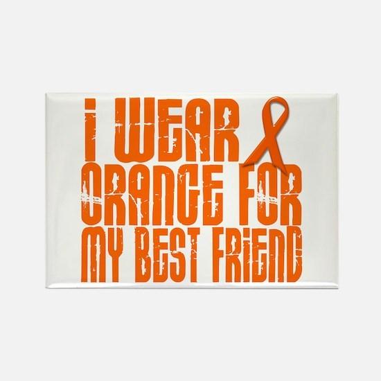 I Wear Orange For My Best Friend 16 Rectangle Magn
