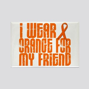 I Wear Orange For My Friend 16 Rectangle Magnet