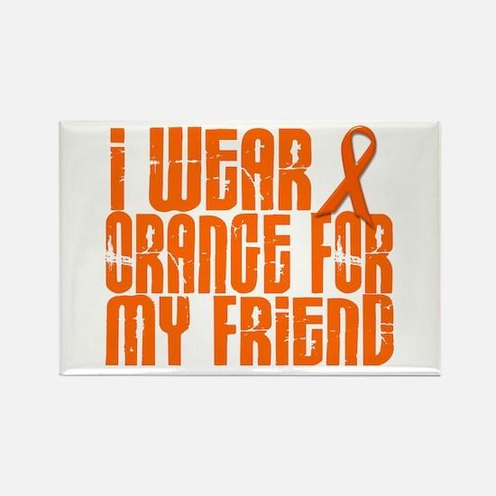 I Wear Orange For My Friend 16 Rectangle Magnet