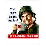 Enjoy the tea? Small Poster